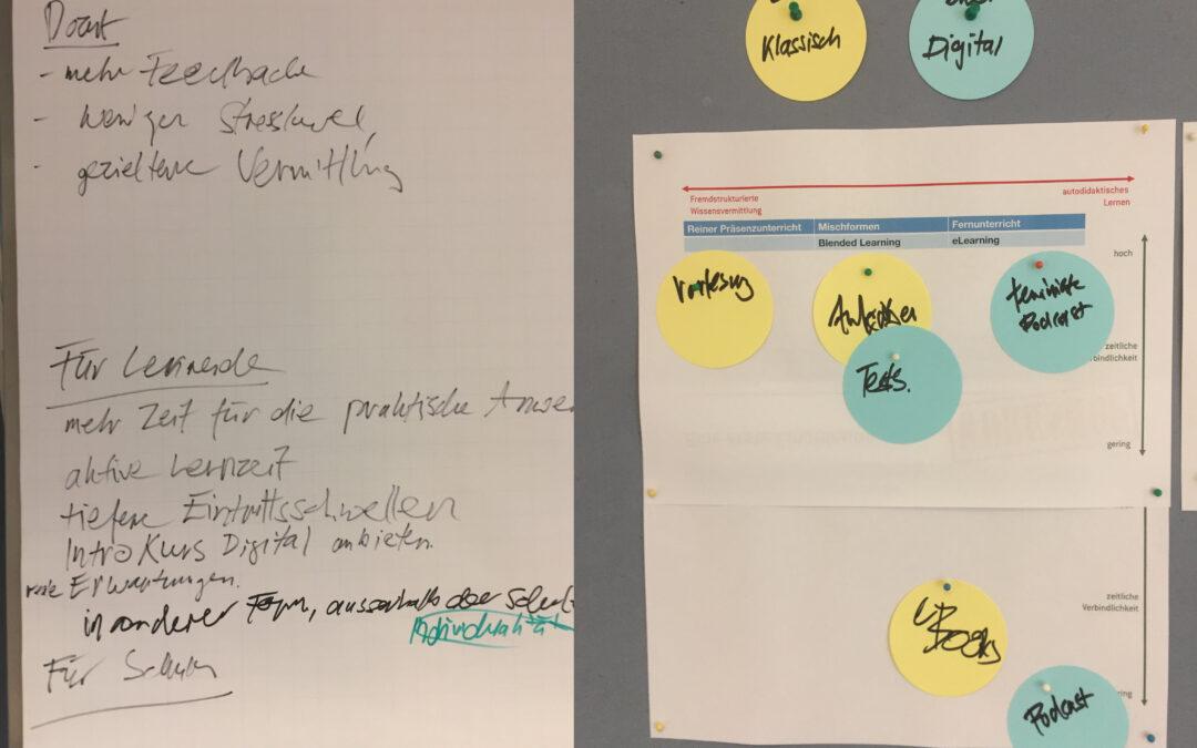 Strategieseminar 'Digitalisierung in der Lehre' erfolgreich durchgeführt