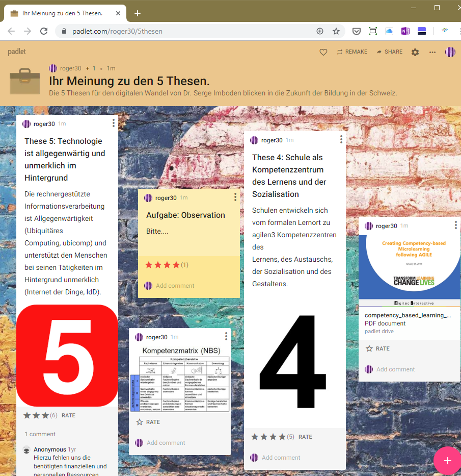 ToolTipp Padlet - Happy Students